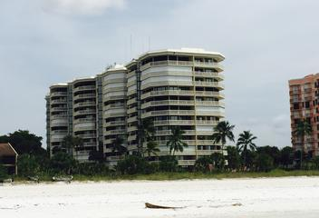 The Chalet Condo Building on Marco Island