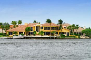 marco island waterfront home
