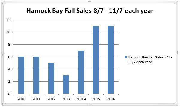 Hammock Bay November Sales Report